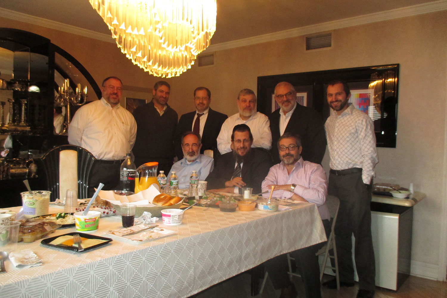 Shiur and brunch in East Brunswick