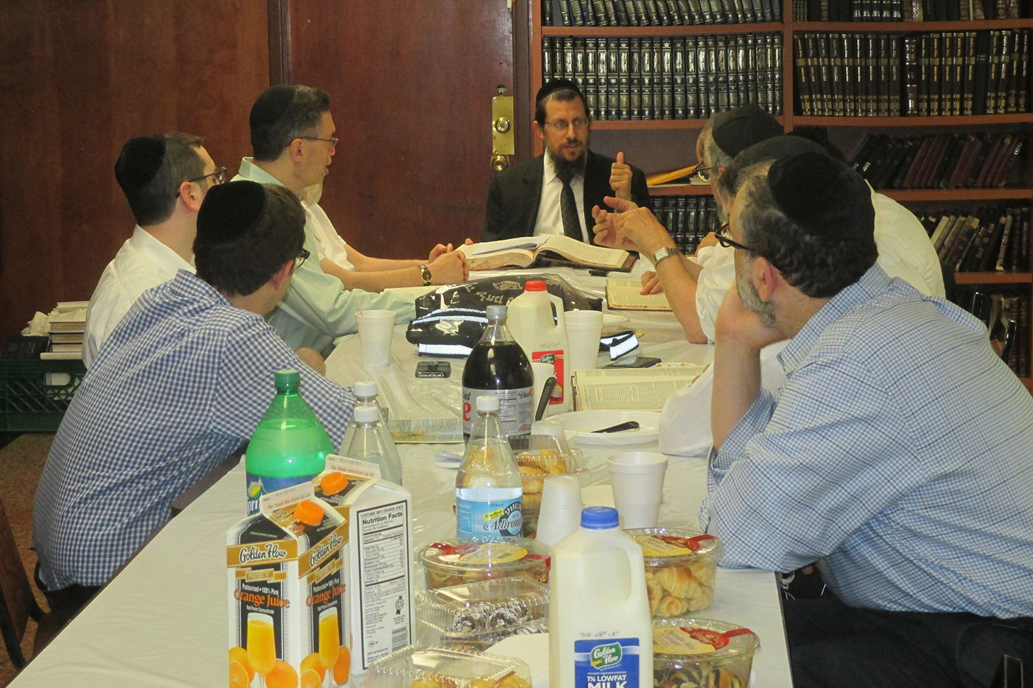 Shiur and brunch in Flatbush
